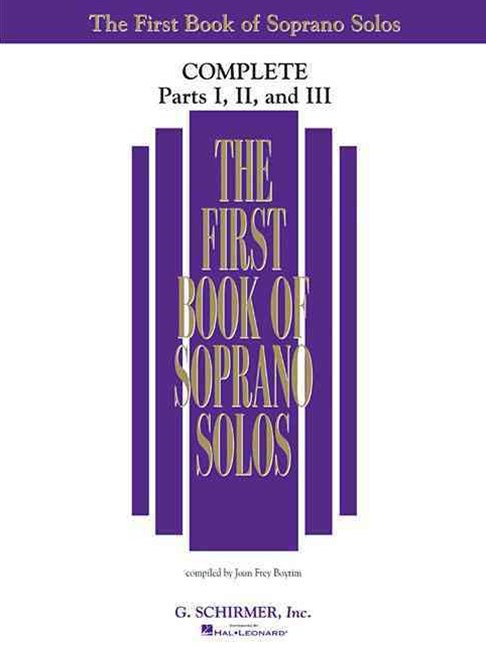 The First Book of Soprano Solos Complete