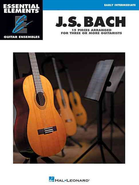 J. S. Bach - 15 Pieces Arranged for Three or More Guitarists