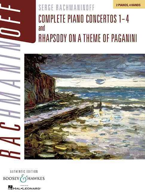 Complete Piano Concertos Nos. 1-4 and Rhapsody on a Theme of Paganini
