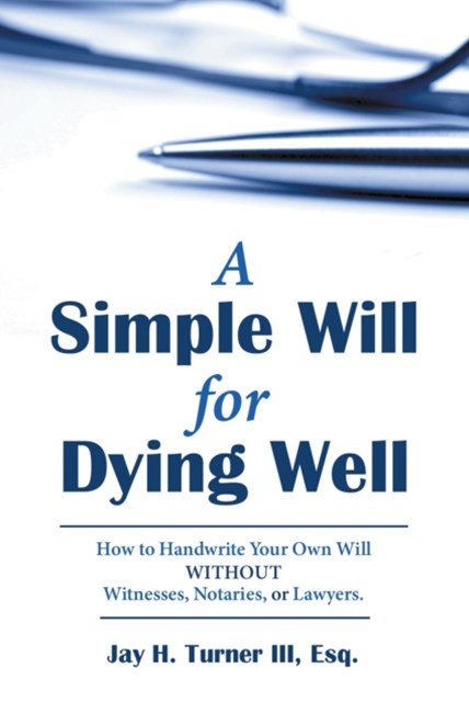 (ebook) Simple Will for Dying Well