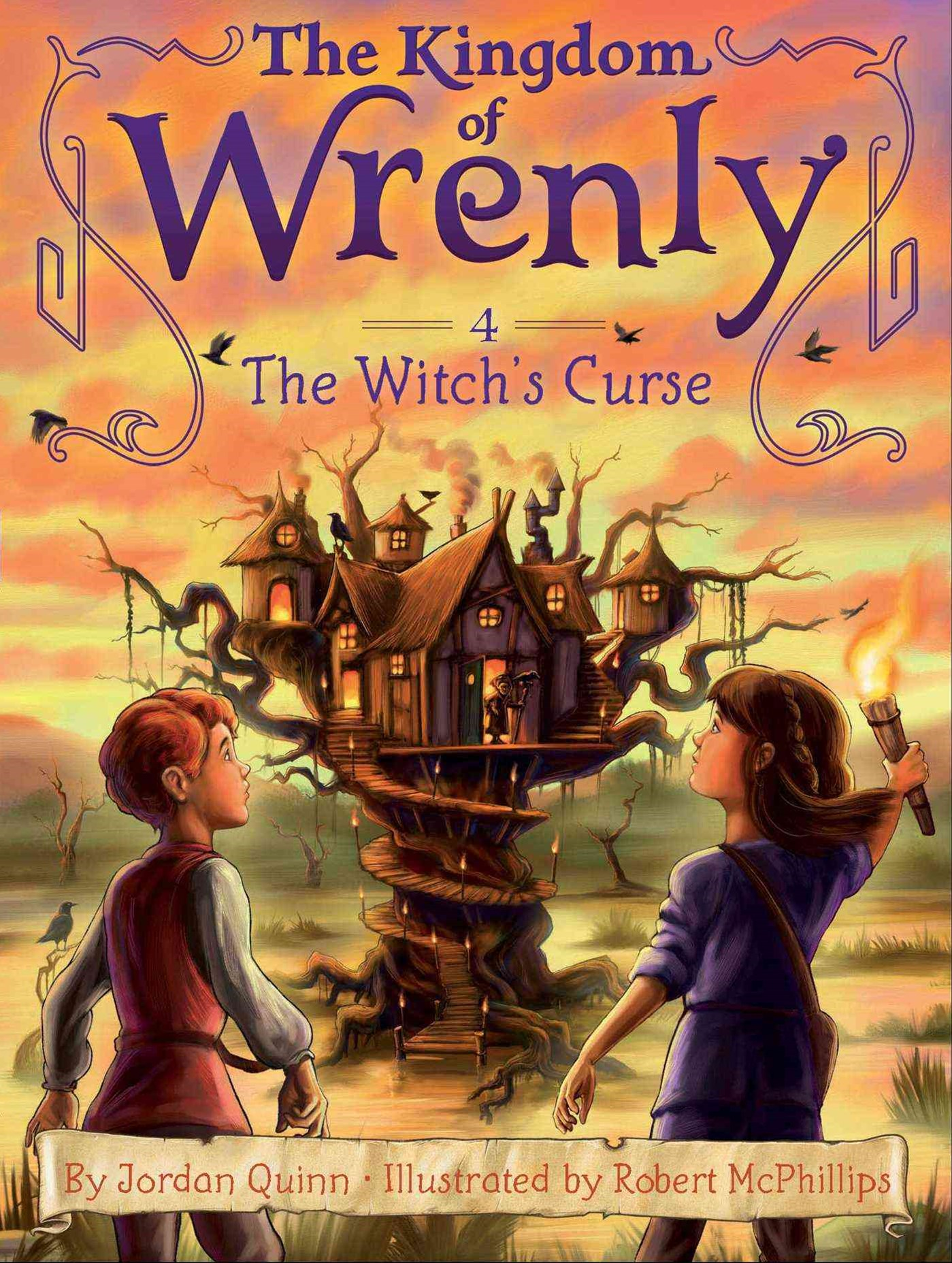Wrenly #4: Witch's Curse