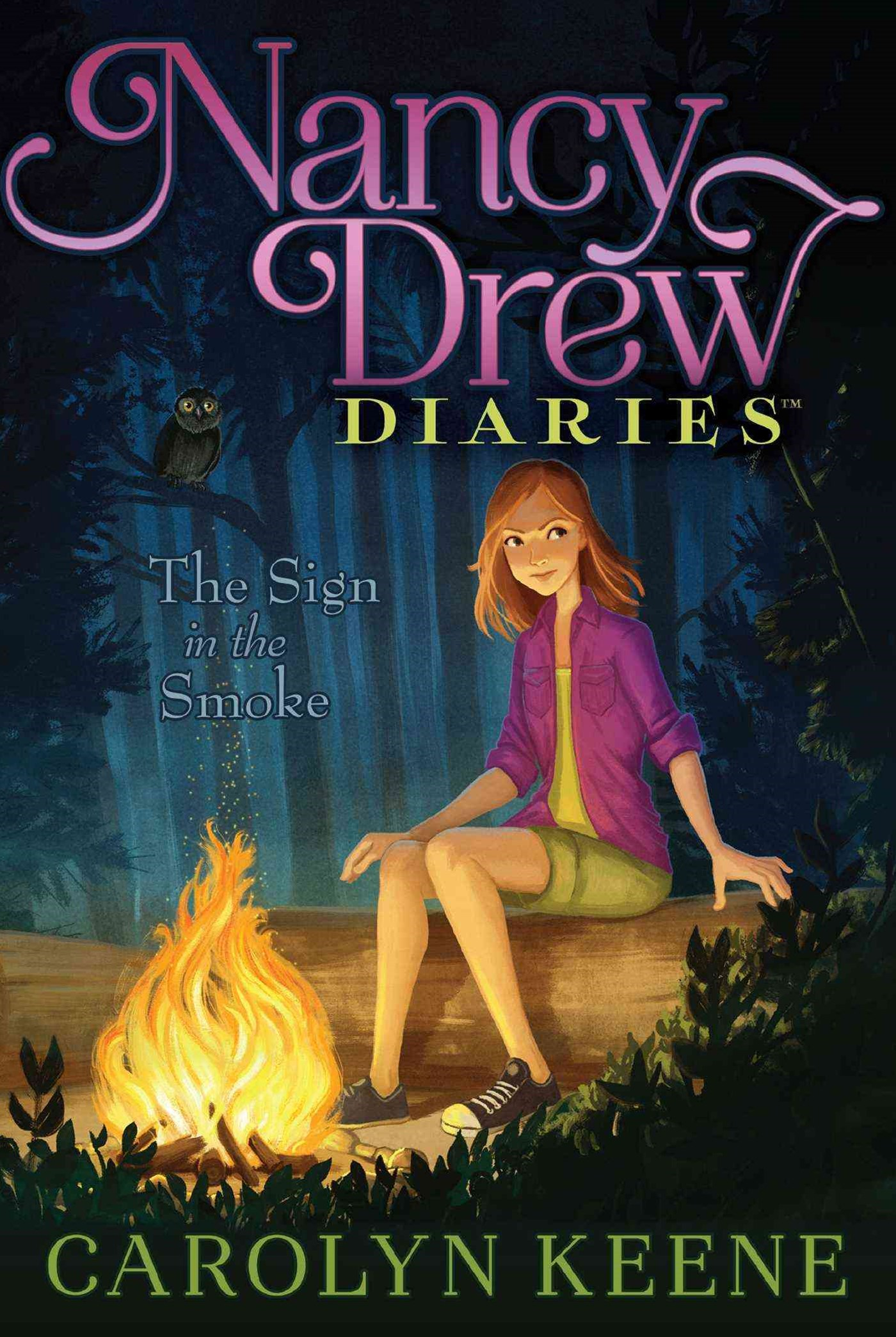 Nancy Drew Diaries #12 Sign in the Smoke