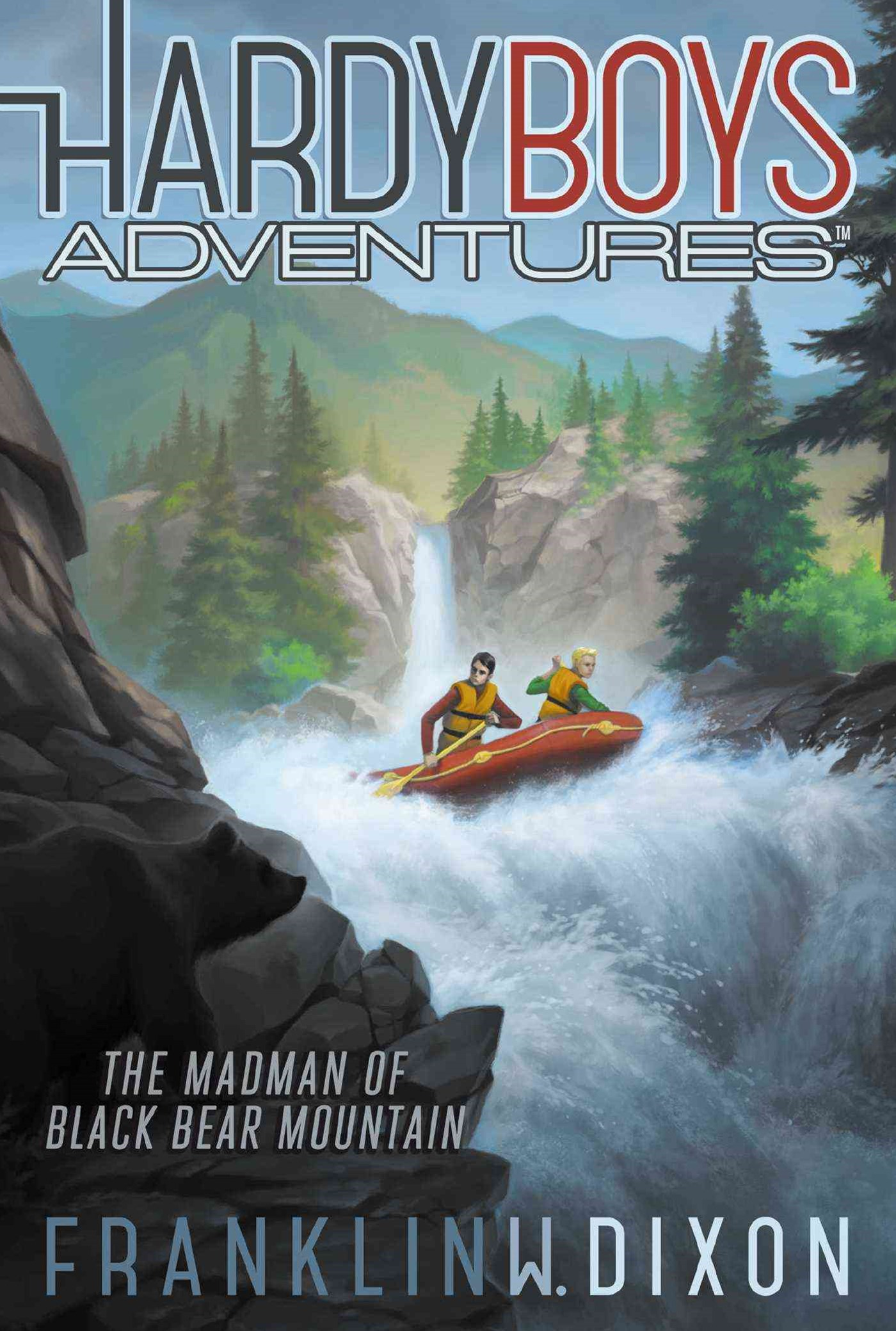 Hardy Boys Adventures #12: The Madman of Black Bear Mountain