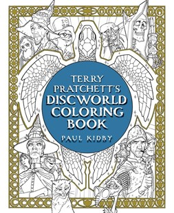 Terry Pratchett'S Discworld Coloring Book by Terry Pratchett, Paul Kidby (9781481498463) - PaperBack - Fantasy