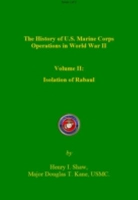History of US Marine Corps Operation in WWII Volume II