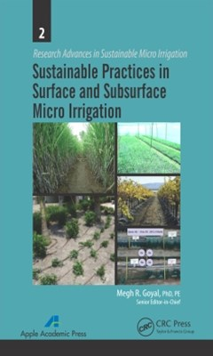 (ebook) Sustainable Practices in Surface and Subsurface Micro Irrigation