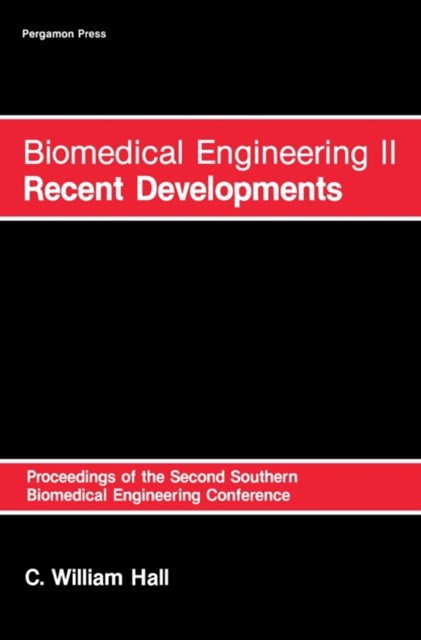 Biomedical Engineering 2: Recent Developments