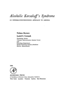 Alcoholic Korsakoff's Syndrome