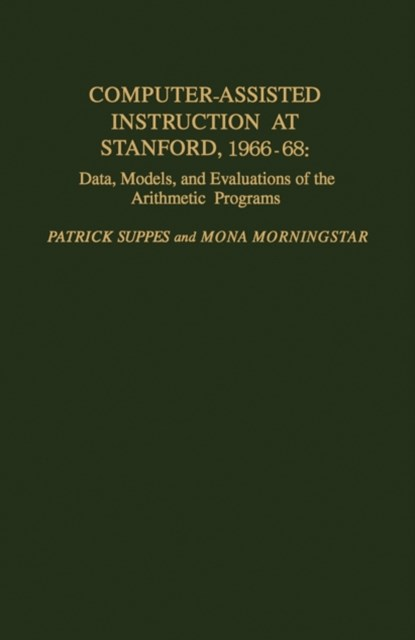 (ebook) Computer-Assisted Instruction at Stanford, 1966-68