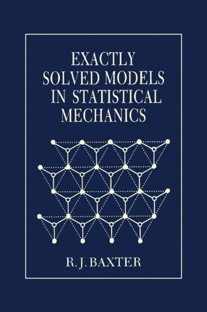 (ebook) Exactly Solved Models in Statistical Mechanics