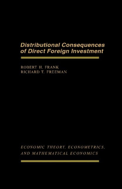 Distributional Consequences of Direct Foreign Investment