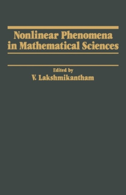 Nonlinear Phenomena in Mathematical Sciences