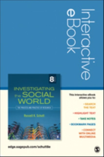 Investigating the Social World: Interactive eBook Student Version