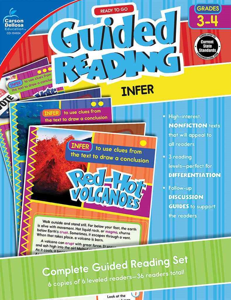 Guided Reading: Infer, Grades 3 - 4