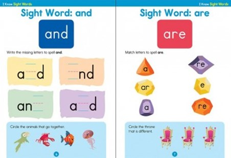 I Know Sight Words by Brighter Child, Inc. Carson-Dellosa Publishing Company (9781483844817) - PaperBack - Non-Fiction