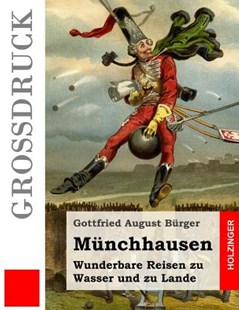 M�nchhausen (Gro�druck) by Gottfried August Burger (9781484039724) - PaperBack - Classic Fiction