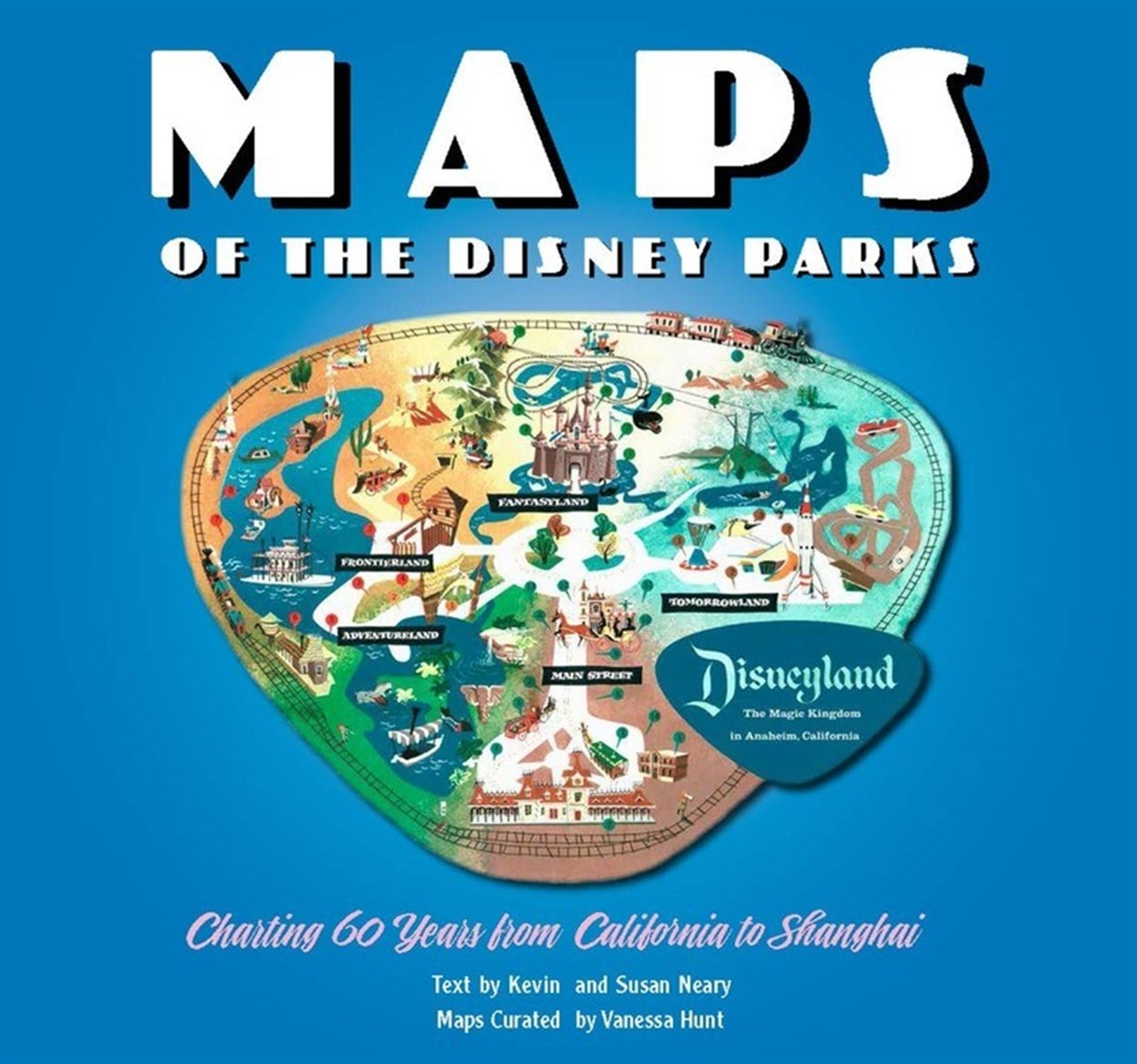 Maps of the Disney Parks: Charting 60 Years from California to Shanghai