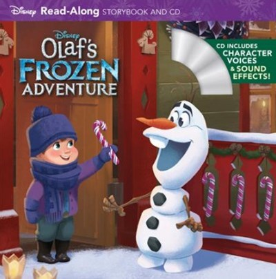 Olaf's Frozen Adventure Read-along Storybook