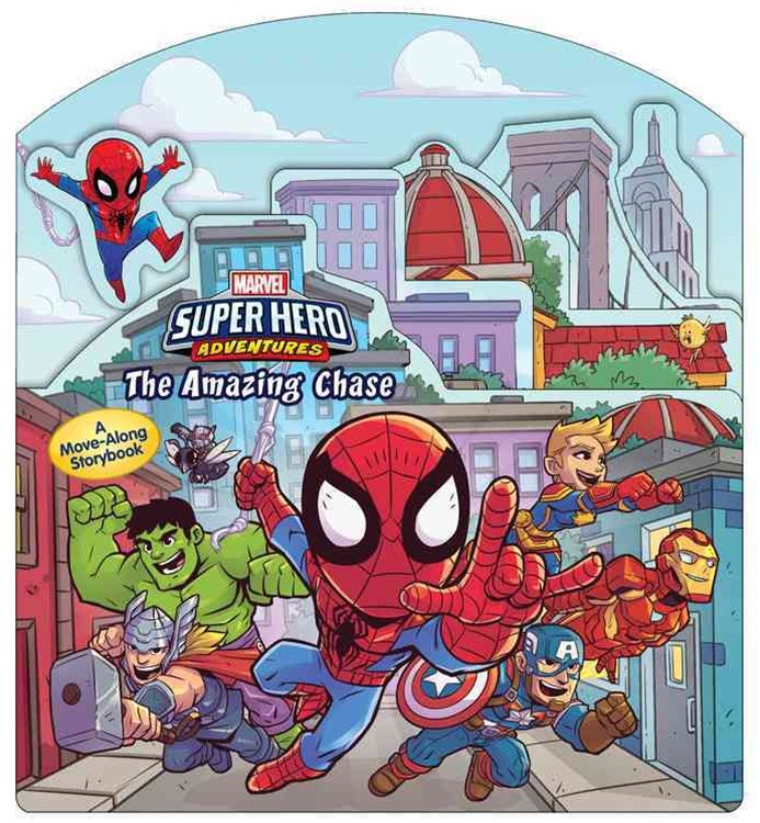 Super Hero Adventures: the Amazing Chase
