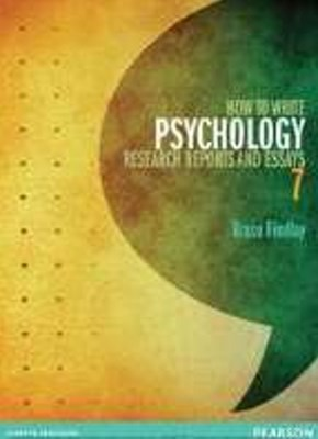 How to Write Psychology Research Reports & Essays