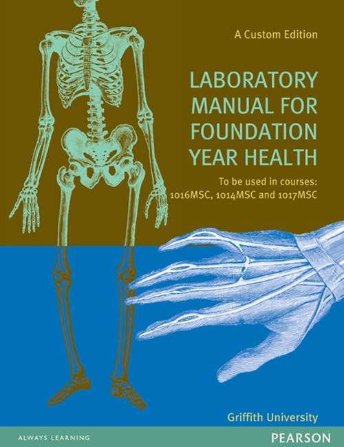 Lab Manual For Foundation Year Health (Custom Edition)