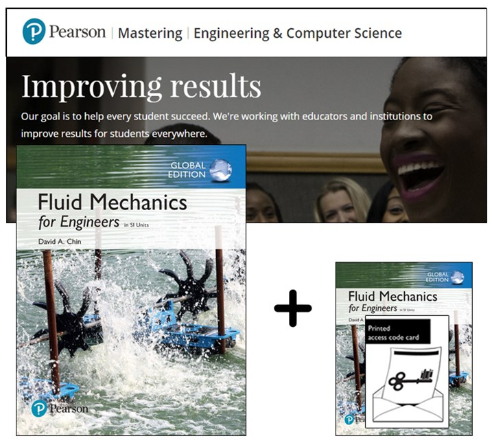 Fluid Mechanics for Engineers in SI Units + Modified Mastering Engineering with eText