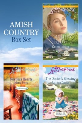 (ebook) Amish Bundle/Restless Hearts/The Doctor's Blessing/Courting Ruth