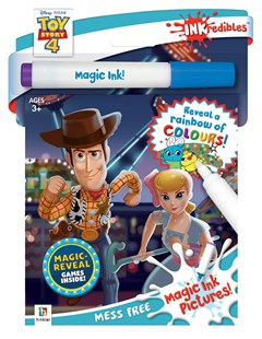 Inkredibles Toy Story 4 Magic Ink Pictures by Hinkler Books Hinkler Books (9781488902130) - Novelty Book - Non-Fiction Art & Activity