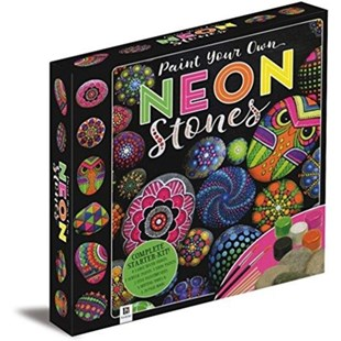 Paint Your Own Neon Stones Box Set by  (9781488905858) - Kit - Craft & Hobbies