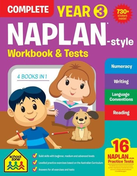 Naplan Year 3 Complete Workbook & Tests