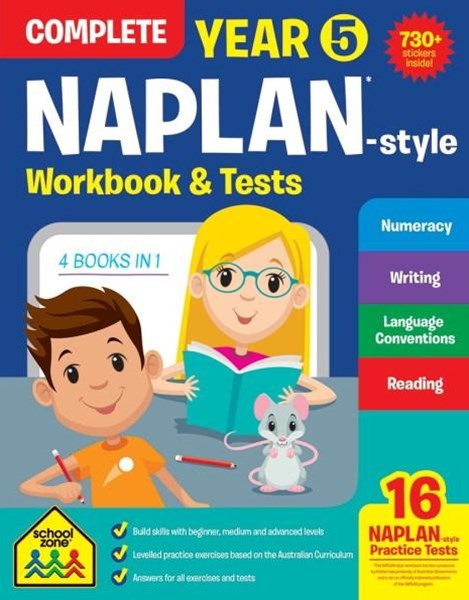 Naplan Year 5 Complete Workbook & Tests