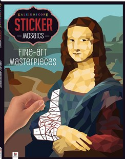 Kaleidoscope Sticker Mosaics: Fine-Art Masterpieces by Hinkler Books (9781488939518) - PaperBack - Picture Books Gift & Novelty