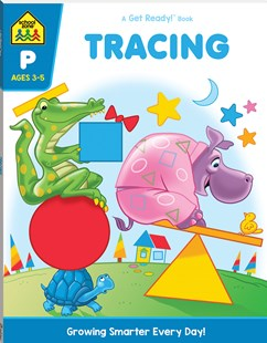 School Zone: Tracing: A Get Ready Book (2019 Ed) by Hinkler Books Hinkler Books (9781488941658) - PaperBack - Non-Fiction Early Learning