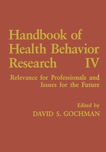 (ebook) Handbook of Health Behavior Research IV - Reference Medicine