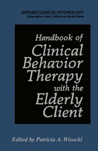 (ebook) Handbook of Clinical Behavior Therapy with the Elderly Client - Reference Medicine