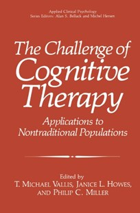 (ebook) Challenge of Cognitive Therapy - Reference Medicine