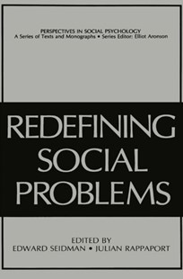(ebook) Redefining Social Problems - Social Sciences Psychology