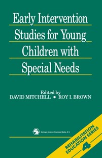 (ebook) Early Intervention Studies for Young Children with Special Needs - Education Teaching Guides