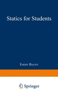 (ebook) Statics for Students - Science & Technology Engineering