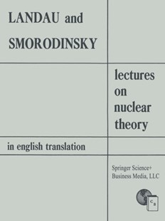 (ebook) Lectures on Nuclear Theory - Science & Technology Engineering