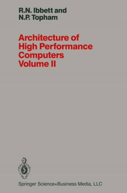 Architecture of High Performance Computers Volume II