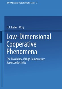 (ebook) Low-Dimensional Cooperative Phenomena - Science & Technology Chemistry
