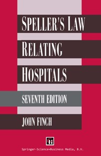 (ebook) Speller's Law Relating to Hospitals - Reference Law