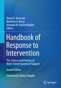 (ebook) Handbook of Response to Intervention - Education Trade Guides