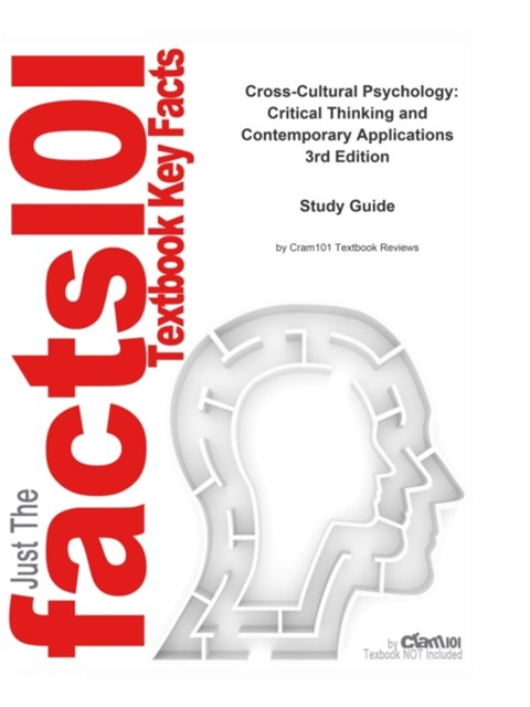 Cross-Cultural Psychology, Critical Thinking and Contemporary Applications