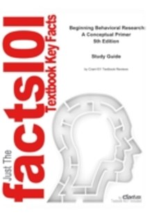 (ebook) Beginning Behavioral Research, A Conceptual Primer - Education
