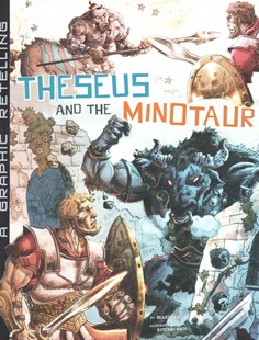 Theseus and the Minotaur by B. A. Hoena, Estudio Haus (9781491422793) - PaperBack - Children's Fiction Older Readers (8-10)