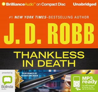 Thankless in Death - Crime Mystery & Thriller