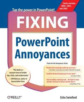 Fixing PowerPoint Annoyances