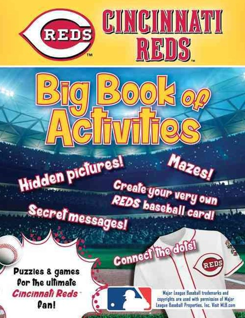 Cincinnati Reds Activity Book